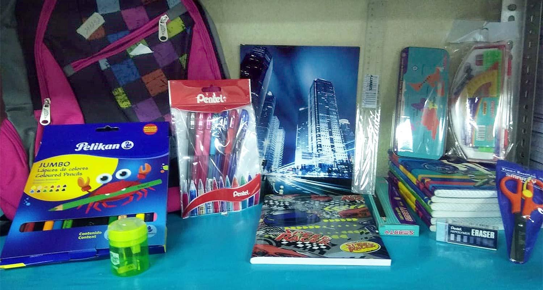 Schulmaterialien für<br /></noscript>nicaraguanische Kinder