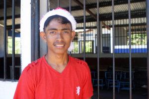 Emiliano de la escuela Nueva Esperanza