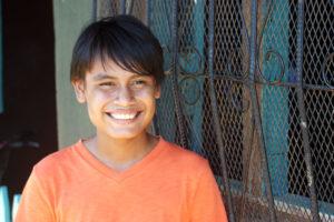 Jaime de la escuela Nueva Esperanza
